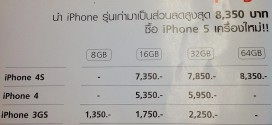 iPhone Trade-in Campaign or iPhone 3GS, 4, 4S purchase the iPhone 5.