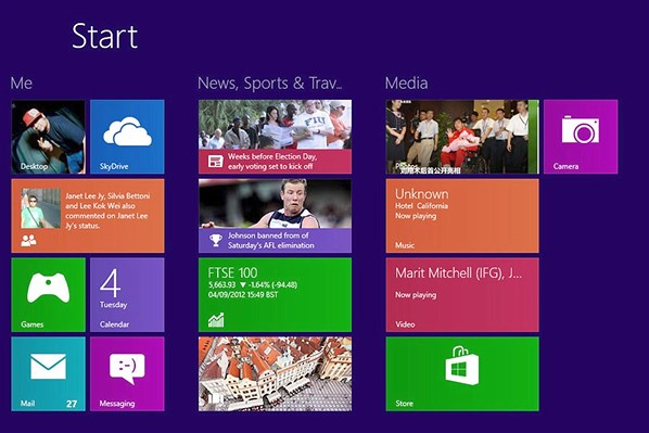 Windows 8 tip 1