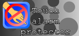 Touch alarm protector