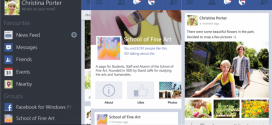 Facebook for WP8