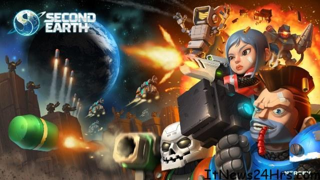 NTREEV SOFT'S SCI-FI STRATEGY GAME 'SECOND EARTH' NOW AVAILABLE FOR MOBILE DEVICES WORLDWIDE