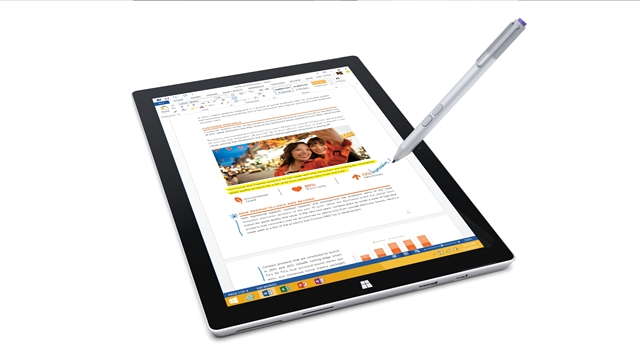Surface Pro 3 - Natural Writing with Surface Pen