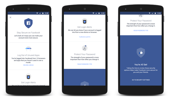 Android Security Checkups