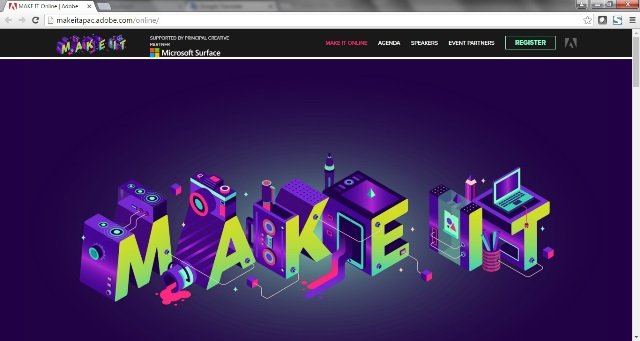 Adobe MAKE IT event