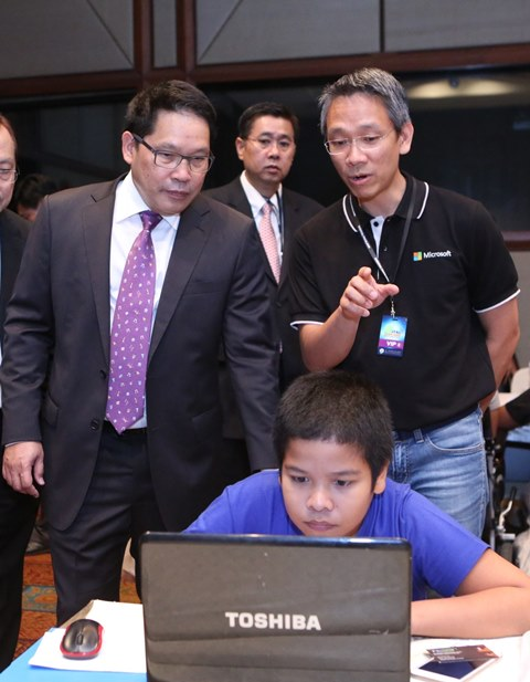 Digital Thailand 2016_Hour of Code-ICT Minister