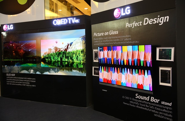 LG OLED TV E6T Perfect Picture on Glass