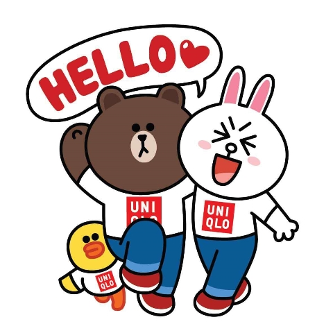 uniqlo x line sticke_9269